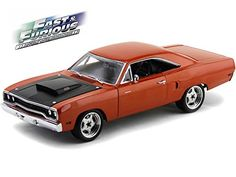 1:18 1970 Plymouth Road Runner Fast and Furious 7 (2015) GMP 18807 - Diecast Model Cars