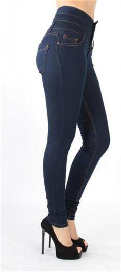 Yüksek Bel Üç Düğmeli Jeans Pantolon | Modelleri ve Uygun Fiyat Avantajıyla | Modabenle