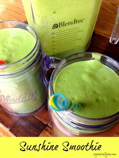 Sunshine Smoothie Ingredients {For 2 servings} • 2 cups almond milk • 2 scoops vanilla protein powder • 1 banana • 3 handfuls spinach • Fruit of your choice {I used frozen pineapple, mango &...