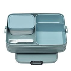 """Rosti Mepal Bento-Lunchbox """"To Go"""", Take a Break large Lunch Box Set, Bento Box Lunch, Lunch Bags, Bento Lunchbox, Cool Lunch Boxes, Lunch Box Containers, Storage Containers, Boite A Lunch, Thing 1"""