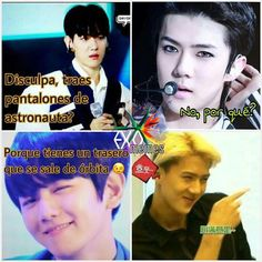 Read 010 from the story 🌈 Memes EXO🌈 by (🌹) with reads. exo, kpop, exo-l. Memes Exo, 100 Memes, Blackpink Memes, Kaisoo, Chanbaek, Sehun, Memes Historia, Exo Stickers, Exo 12