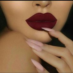 Dark cherry matte liquid lipstick #33 matte liquid lipstick #33 professional long lasting lipstick please see pictures for details on color 1 for $6, 2 for $10, 3 for $12. Keep adding $2 for every lipstick you add. Ask me to make you a listing with the colors you like. :) Waterproof matte lipstick to remove use Vaseline or makeup removal. Please be aware that not all colors look the same and different skin tones. You can see me wearing the lipstick on mi pictures. Se habla espa?ol ;) Makeup…