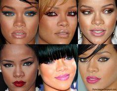Rihannas Makeup   LUUUX