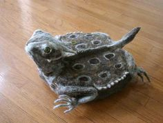 This is i-Toad. One of the covers for a Roomba