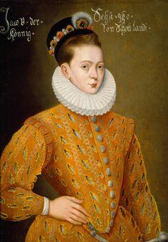 Portrait of James I of England and James VI of Scotland