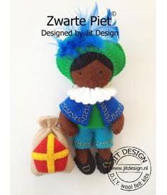 DIY wool package Zwarte Piet