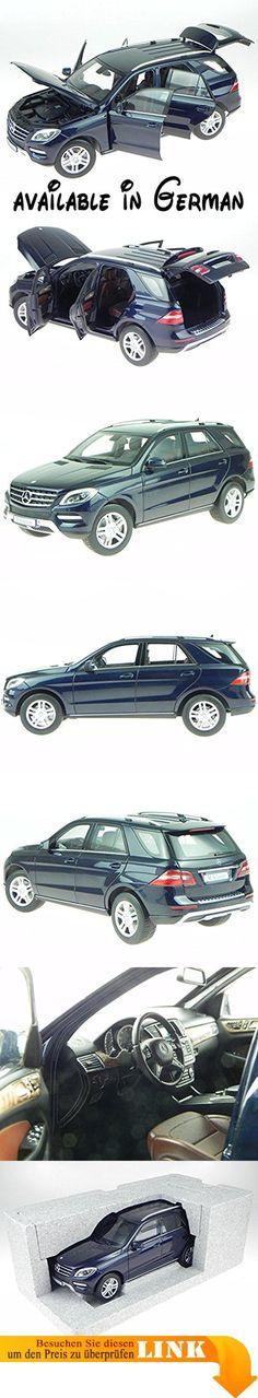 B01N0P2E2H : Mercedes W166 M-Klasse tansanit blau 2 Modellauto Minichamps 1:18. Fertigmodell (keine Montage erforderlich). Material: Druckguss