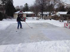 30 Second Mom   Ashlee Benest: 10 Steps To Building A Backyard Ice Skating  Rink