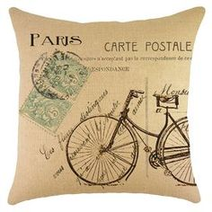 Carte Postale Pillow