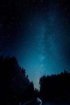 I miss the stars.