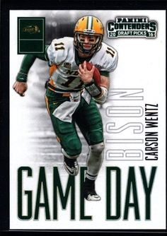 CARSON WENTZ  EAGLES ROOKIE RC 2016 CONTENDERS #27 MINT FROM PACK #PhiladelphiaEagles