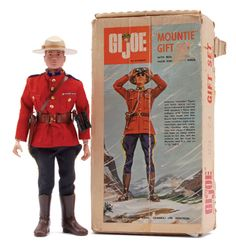 GI Joe Canadian Mountie Sear's exclusive
