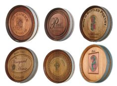 Wine Barrel Wall Decor wine barrel plaques | hillside lane | pinterest | barrels, wine