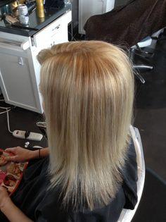 Blonde haircolor