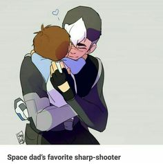 Space Dad's favorite sharp shooter