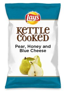 Wouldn't Pear, Honey and Blue Cheese be yummy as a chip? Lay's Do Us A Flavor is back, and the search is on for the yummiest flavor idea. Create a flavor, choose a chip and you could win $1 million! https://www.dousaflavor.com See Rules.