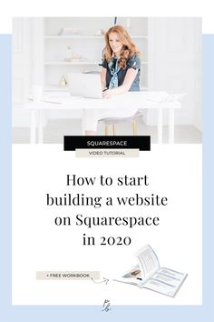 How to start building a website on Squarespace in 2020 — Paige Brunton Website Design Inspiration, Web Design Mobile, Web Design Tips, Design Layouts, Blog Design, Create Your Website, Business Website, Business Tips, Online Business