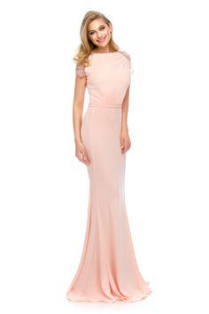 Splendor in pink - OLESA evening dress by Athena Philip >>> www. Glamorous Evening Dresses, Luxury Dress, Glamour, Elegant, Formal Dresses, Pink, Color, Collection