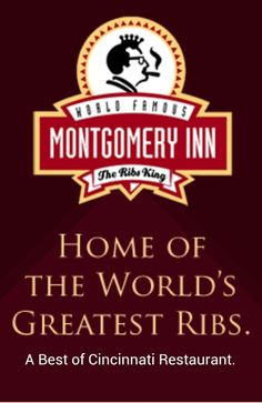 Montgomery Inn is where we have our Christmas party every year.