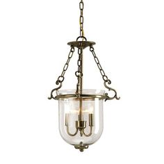 Currey & Company 9538 3 Light Petit Athena Chandelier, Antique Brass $589 Lighting universe