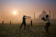 A five-day Test can attract billions of dollars' worth of bets in India. Image by Adrian Pope / Photographer's Choice / Getty Images