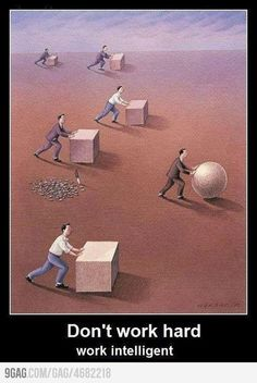 Don't work hard, work intelligent. (500×747)