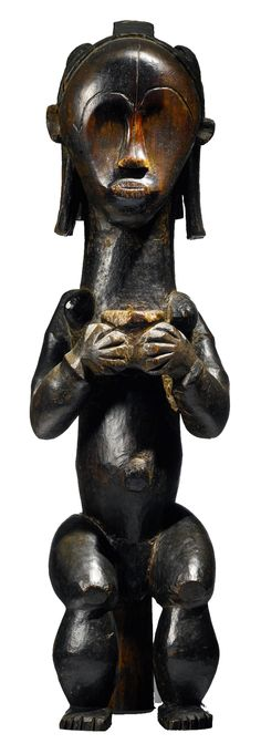 Africa   Reliquary figure from the Fang Betsi and Mekè people of Gabon   Wood   ca. late 19th century