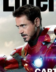 """'s Tony Stark on the cover of the special collectible issue of Entertainment Weekly devoted to """"Captain America: Civil War"""" (April Avengers 2, Entertainment Weekly, Robert Downey Jr, Tony Stark, Captain America, Iron Man, Handsome, Marvel, Superhero"""
