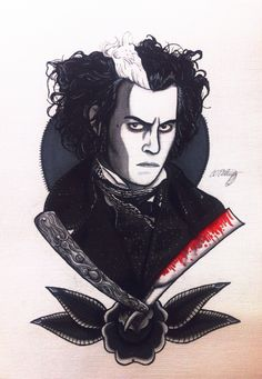 Tim Burton's, Sweeney Todd. Illustrated by Christie O'Doherty