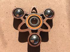 The Atom fidget spinner