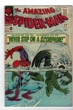 The Amazing Spider-Man #29 VG (Oct 1965, Marvel) Silver Age Comic Book Scorpion