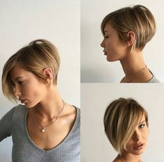 Funny hair styles in concert with short womens haircut side swept bangs thick textured bangs. Perm hair styles into long pixie haircut. Captivating hair trend as of long pixie haircut. Bob Hairstyles For Fine Hair, Haircuts For Fine Hair, Pixie Haircuts, Trending Hairstyles, Hairstyles Haircuts, Natural Hairstyles, Blonde Hairstyles, Braid Hairstyles, Latest Hairstyles