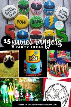 15 Power Ranger Birthday Party Ideas