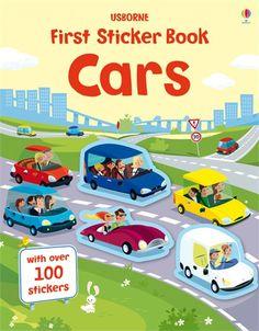 First sticker book: Cars