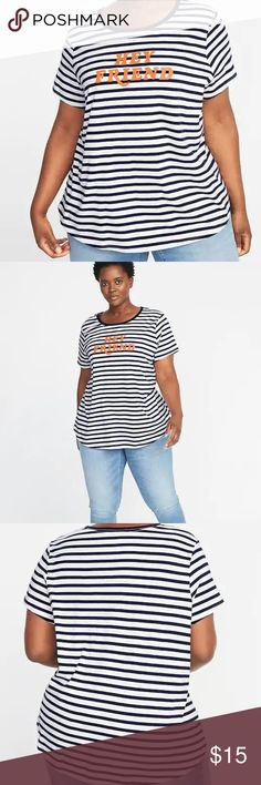 52d00f467b5d6 Old Navy EveryWear Plus-Size Graphic Tee New Our EveryWear tees are  super-soft