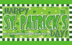 Happy St Patricks Day Wishes Picture Patty Day Image Card with Message