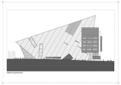 Grand Canal Square. Libeskind. Elevation