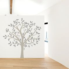 Display all your family memories and members for guests to admire on our Large Family Tree Wall Decal! Whether you add pictures frames to it or