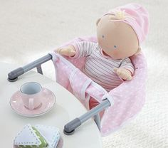 Doll Clip-On Booster Chair #PotteryBarnKids