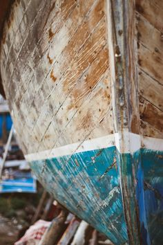 Lots of work to keep a wooden boat, but also very rewarding