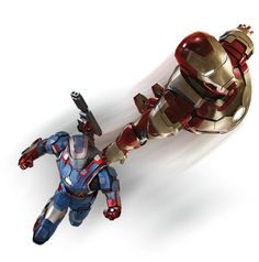 New IRON MAN 3 Promo Art and War Machine MiniBust - News - GeekTyrant