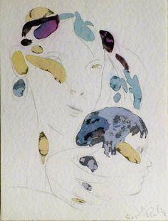 "Saatchi Art Artist Frederic Belaubre; Drawing, ""Maternity 10"" #art"