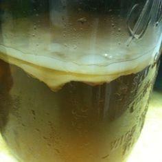 Home-brew Kombucha