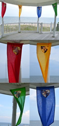 harry potter house banners