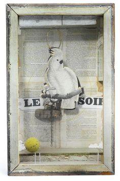 JOSEPH CORNELL   Untitled (Juan Gris series, Le Soir)