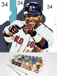 Gift a personalized paint by number kit for a smashing hit this season.  Easy123Art.com