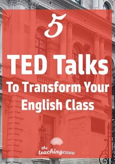 Which TED Talks are the best for your English class? How can you use TED Talks to create engaging, inspiring lessons and get students to speak up in class? Don\'t miss this post on 5 of my favourite TED talks. Join the FREE printables library at the end of the post to access a FREE TED lesson plan - coming soon!