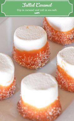 Salted Caramel Marshmallows - so easy!