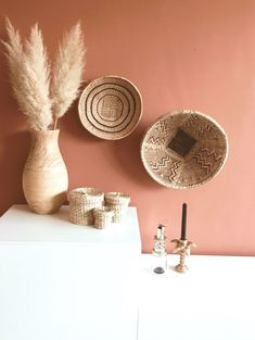 wall color terracotta typical Life By Iv Room Inspiration, Interior Inspiration, Home Bedroom, Bedroom Decor, Bedroom Wall, Ideas Hogar, New Room, Wall Colors, Terracotta