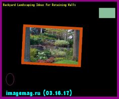 Backyard Landscaping Ideas For Retaining Walls  - The Best Image Search
